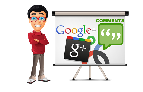 Beli GooglePlus Comments