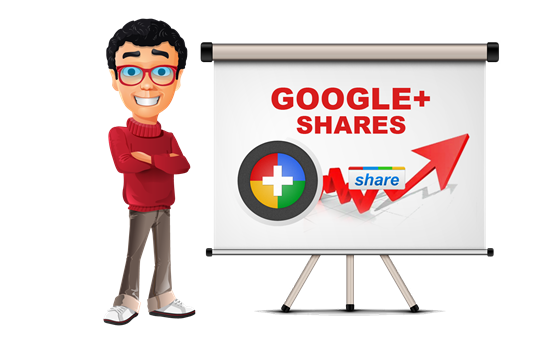 Beli GooglePlus Shares